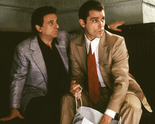 This is an image of 264384 Ray Liotta & Joe Pesci Photograph & Poster