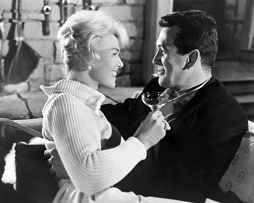 This is an image of 171969 Doris Day & Rock Hudson Photograph & Poster