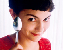 This is an image of 268035 Audrey Tautou Photograph & Poster