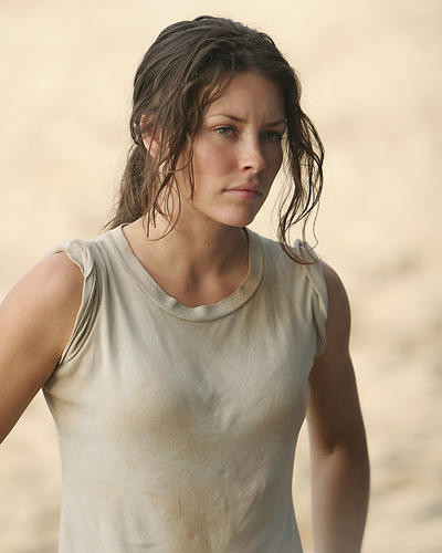 This is an image of 272393 Evangeline Lilly Photograph & Poster