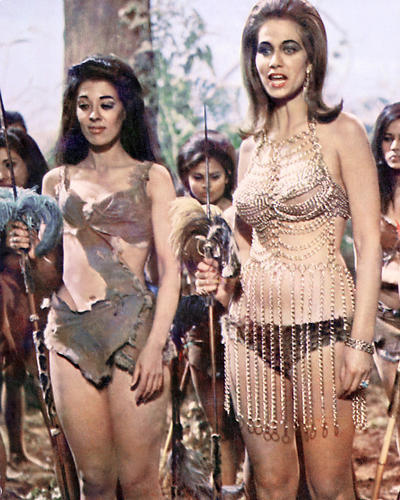 This is an image of 277068 Carry on Up the Jungle Photograph & Poster