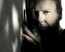 This is an image of 272418 Kiefer Sutherland Photograph & Poster