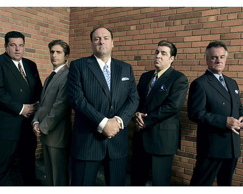 This is an image of 276398 The Sopranos Photograph & Poster