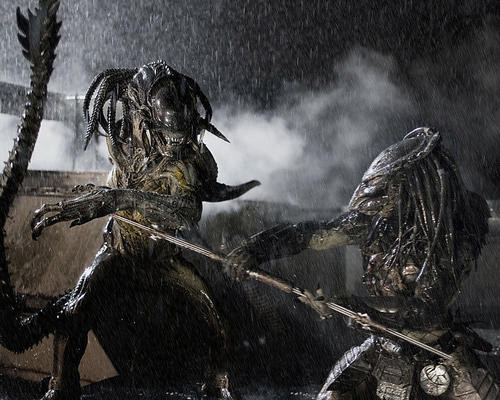 This is an image of 277821 Aliens Vs Predator Requiem Photograph & Poster