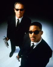 This is an image of 226265 Will Smith & Tommy Lee Jones Photograph & Poster