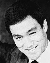 This is an image of 167616 Bruce Lee Photograph & Poster