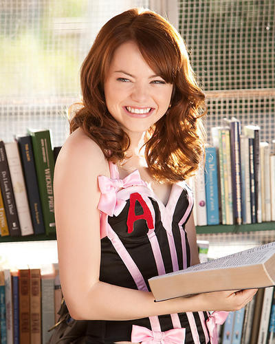 This is an image of 282154 Emma Stone Photograph & Poster