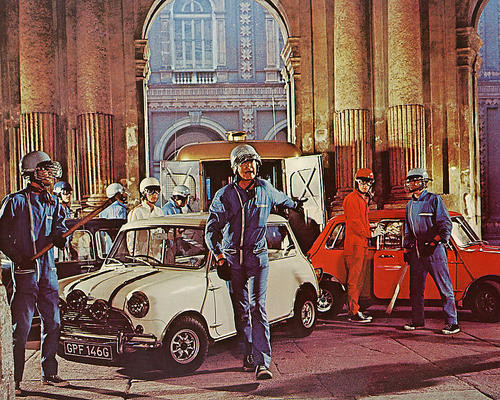 This is an image of 282435 The Italian Job Photograph & Poster