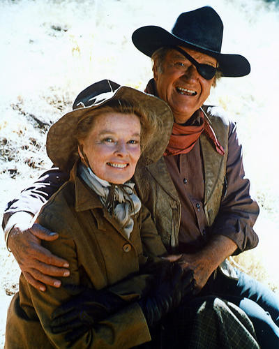 This is an image of 282518 Rooster Cogburn Photograph & Poster