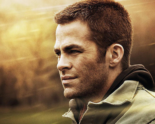 This is an image of 283026 Chris Pine Photograph & Poster