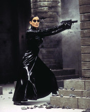 This is an image of 283492 Carrie-Anne Moss Photograph & Poster