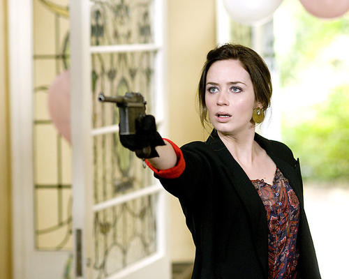 This is an image of 283452 Emily Blunt Photograph & Poster