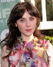 This is an image of 270265 Zooey Deschanel Photograph & Poster