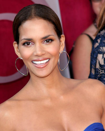 This is an image of 270154 Halle Berry Photograph & Poster