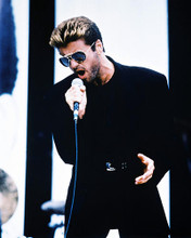 This is an image of 211112 George Michael Photograph & Poster