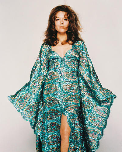 This is an image of 213101 Diana Rigg Photograph & Poster