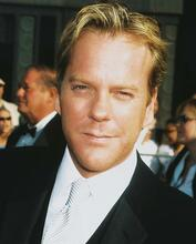 This is an image of 251788 Kiefer Sutherland Photograph & Poster