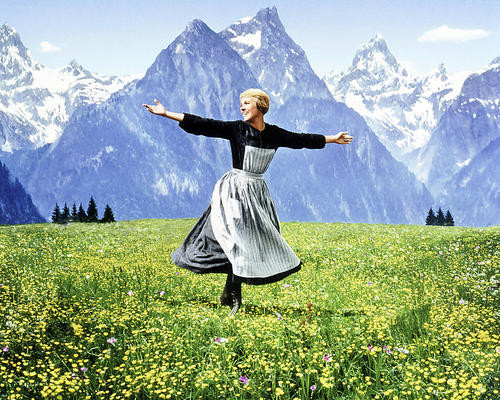 This is an image of 271395 Julie Andrews Photograph & Poster