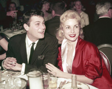 This is an image of Prints & Posters of Tony Curtis and Janet Leigh 202604