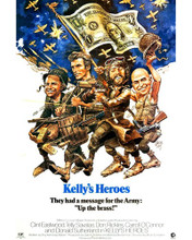 This is an image of Prints & Posters of Kellys Heroes 202524