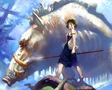 This is an image of Prints & Posters of Princess Mononoke 202885