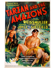This is an image of Prints & Posters of Tarzan and the Amazons 203180