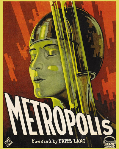 This is an image of Prints & Posters of Metropolis 203185