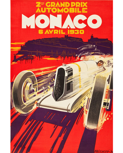 This is an image of Prints & Posters of Monaco 203194