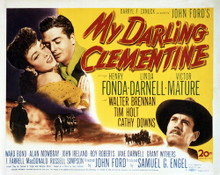 This is an image of Vintage Reproduction Lobby Card of My Darling Clementine 295005