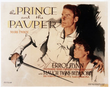 This is an image of Vintage Reproduction Lobby Card of The Prince and the Pauper 295015