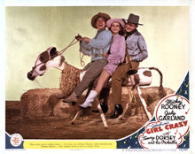 This is an image of Vintage Reproduction Lobby Card of Girl Crazy 295019