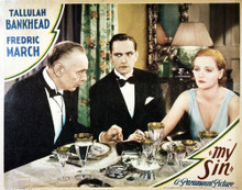 This is an image of Vintage Reproduction Lobby Card of My Sin 295038