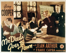 This is an image of Vintage Reproduction Lobby Card of Mr. Deeds Goes to Town 295039