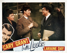 This is an image of Vintage Reproduction Lobby Card of Mr. Lucky 295046