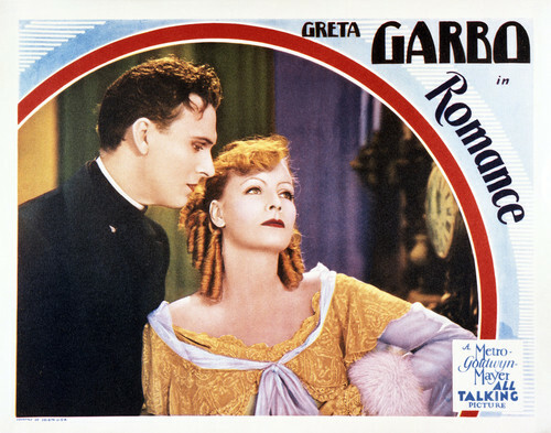 This is an image of Vintage Reproduction Lobby Card of Romance 295063