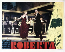 This is an image of Vintage Reproduction Lobby Card of Roberta 295066