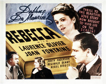 This is an image of Vintage Reproduction Lobby Card of Rebecca 295250