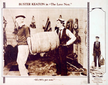 This is an image of Vintage Reproduction Lobby Card of The Love Nest 296214