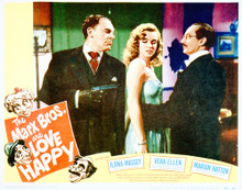 This is an image of Vintage Reproduction Lobby Card of Love Happy 296226