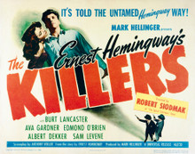 This is an image of Vintage Reproduction Lobby Card of The Killers 1946 296228