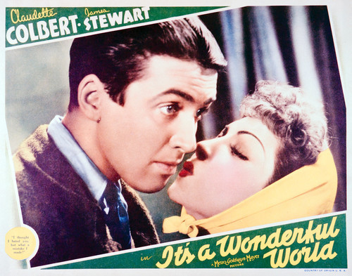 This Is An Image Of Vintage Reproduction Lobby Card Its A Wonderful World 296249
