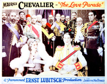 This is an image of Vintage Reproduction Lobby Card of The Love Parade 296292