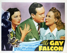 This is an image of Vintage Reproduction Lobby Card of The Gay Falcon 296369