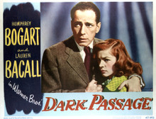 This is an image of Vintage Reproduction Lobby Card of Dark Passage 296385