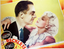 This is an image of Vintage Reproduction Lobby Card of Reckless 296471