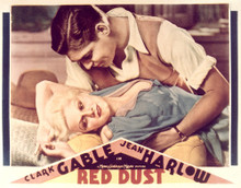 This is an image of Vintage Reproduction Lobby Card of Red Dust 296482
