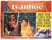This is an image of Vintage Reproduction Lobby Card of Ivanhoe 296915