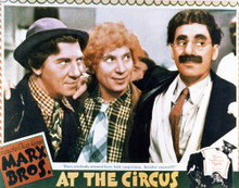 This is an image of Vintage Reproduction Lobby Card of At the Circus 296922