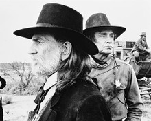 This is an image of Photograph & Poster of Johnny Cash & Willie Nelson 171551