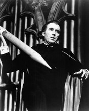 This is an image of Photograph & Poster of Christopher Lee 103172
